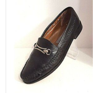 Stacy Adams Casual Black Leather Loafers